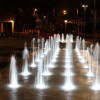 Fountain Porject used 27W RGB Led Underwater Light