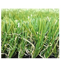 Synthetic lawn and C shape artificial grass