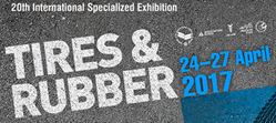Tires & Rubber 2017, logo