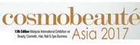 Cosmobeauté Malaysia 2017, logo