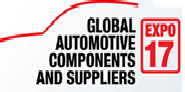 Global Automotive Components and Suppliers Expo 2017,New Stuttgart Trade Fair Centre logo