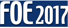 FOE 2017- 17th Fiber Optics Expo, logo