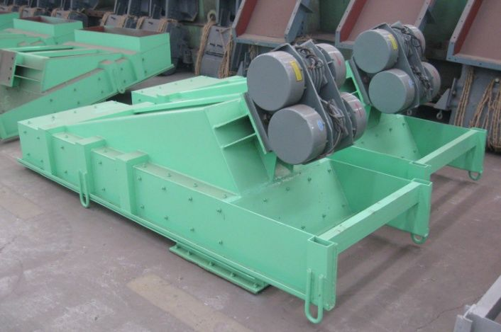30-270t/h ZG series vibrating feeder for mining