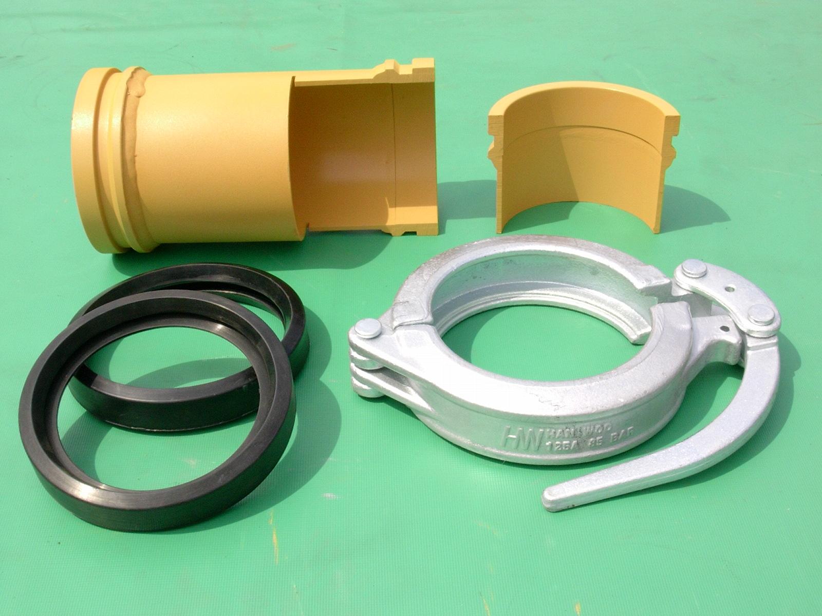 Czic groups pump parts concrete