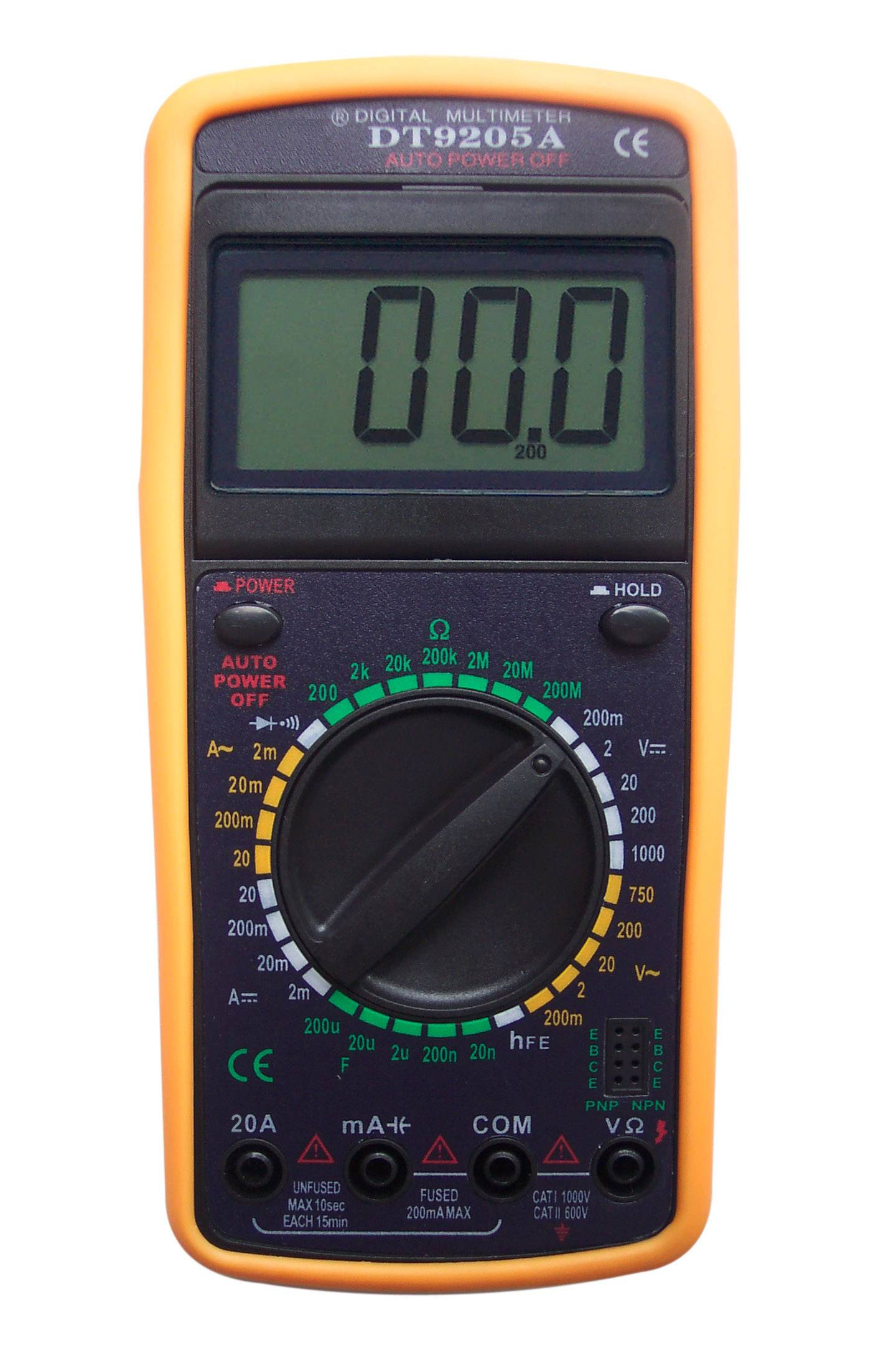 Sell Digital Multimeter DT9205A Manufacturer, Supplier ...
