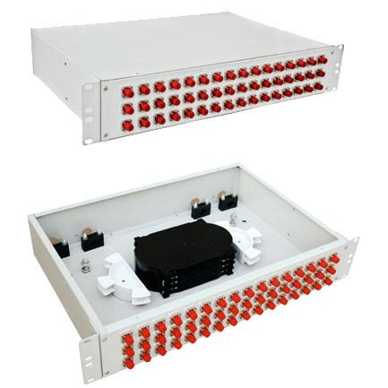2U 48 Ports Rack Mount Fiber Termination Boxes,Rack Mounted Fiber Termination Boxes