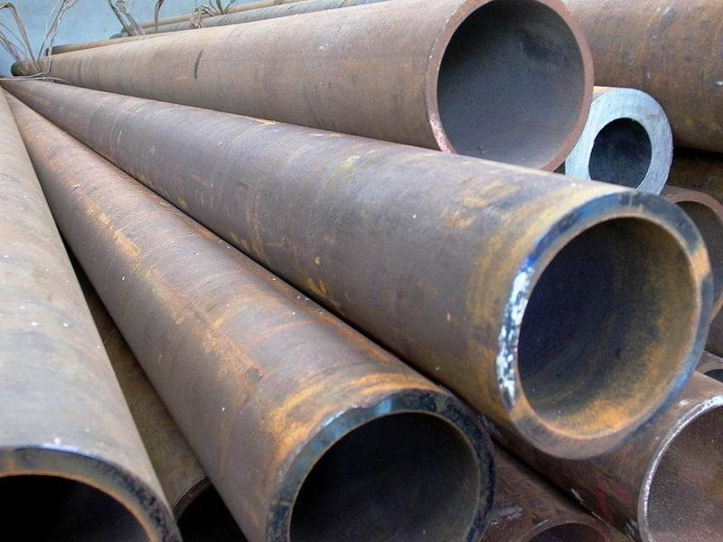 Steel round bar and heavy wall thickness seamless pipes