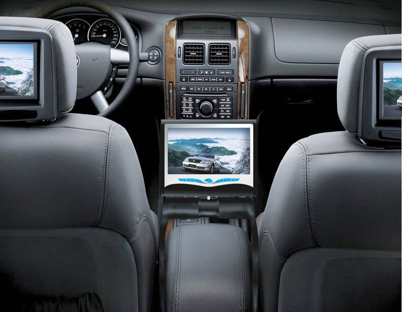 7/8.5 Car Center Console DVD---Bluetooth, IPOD, Touch