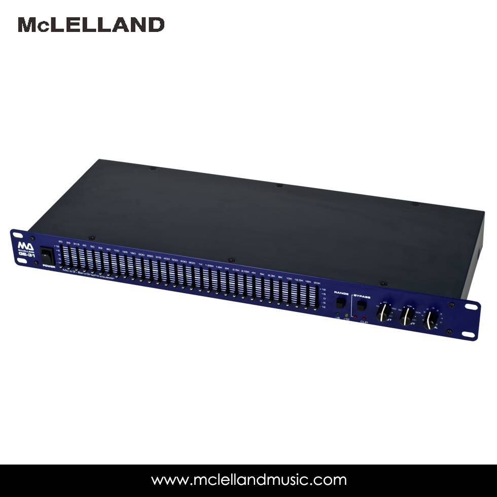 31 Band Graphic Equalizer(GE-31)