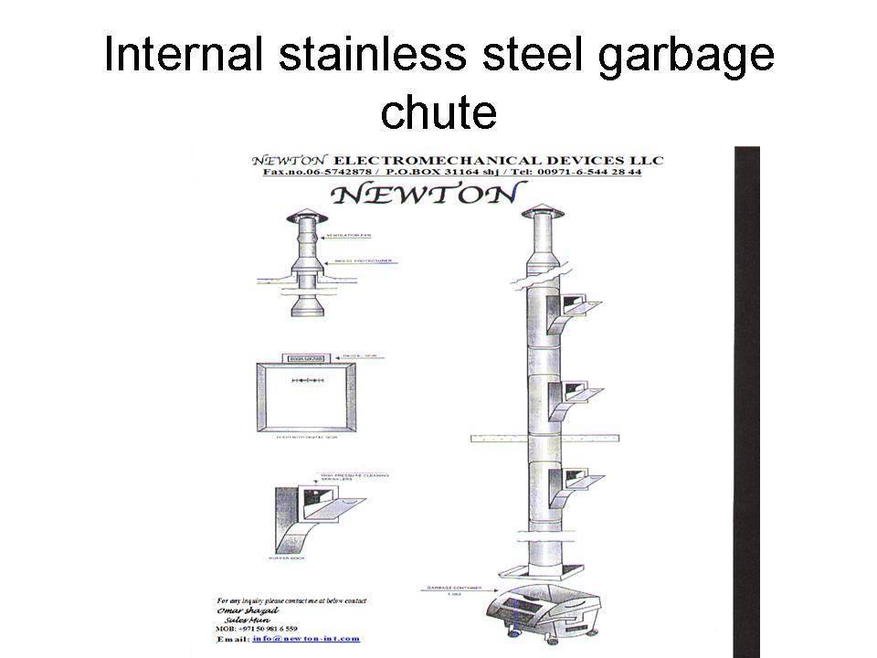 Trash Chute Details : Linen chute manufacturer supplier exporter ecplaza