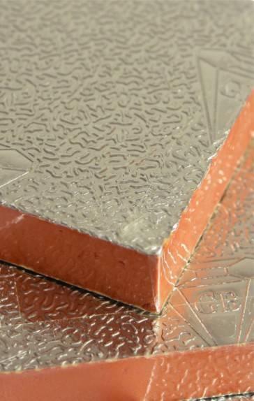 Phenolic Foam Insulation : Aluminum foil phenolic foam insulation board manufacturer