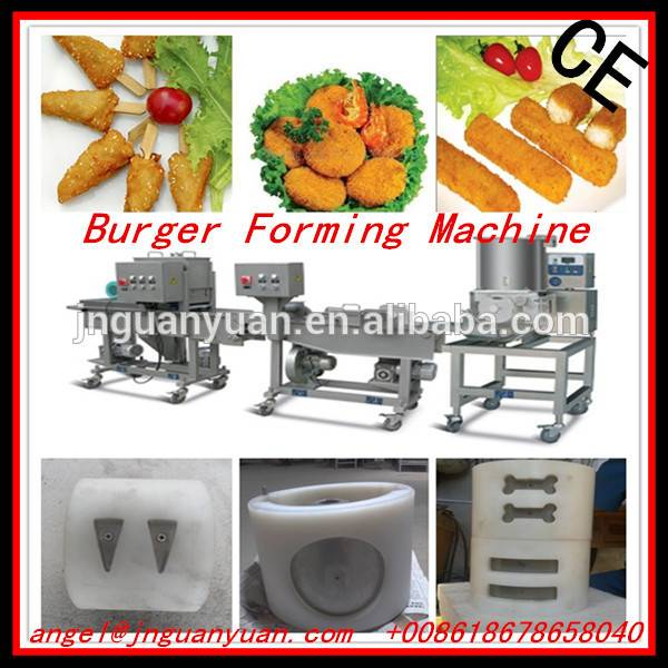 Multi-functional Chicken Nuggets/Burger Forming Making Machine/Production Line