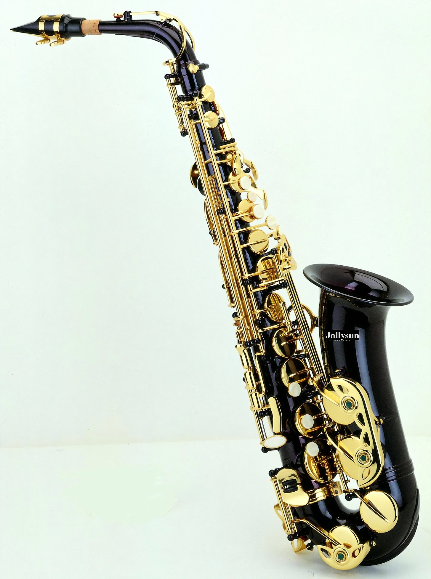 jollysun alto saxophone wind musical instruments shop dropship dubai black manufacturer. Black Bedroom Furniture Sets. Home Design Ideas