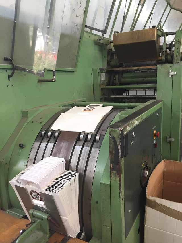 used Paper converting machines wanted