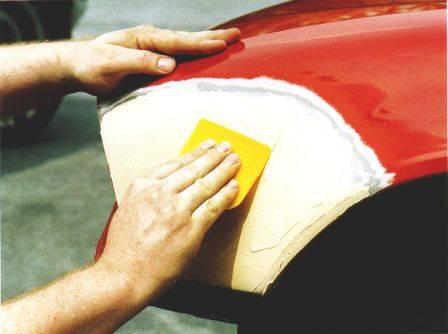 Как шпаклевать автомобиль своими руками 142