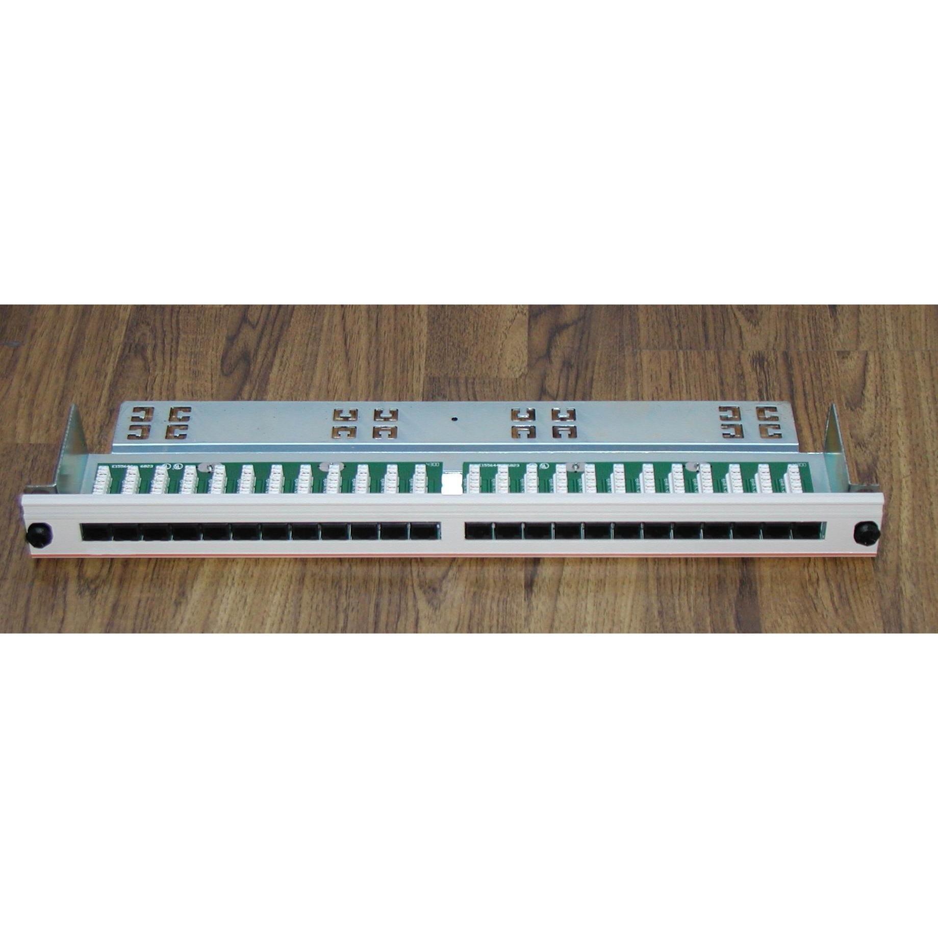 Nexans Essential Low Cost Punch Down UTP Cat5e Panels,Nexans Cat5e Patch Panels