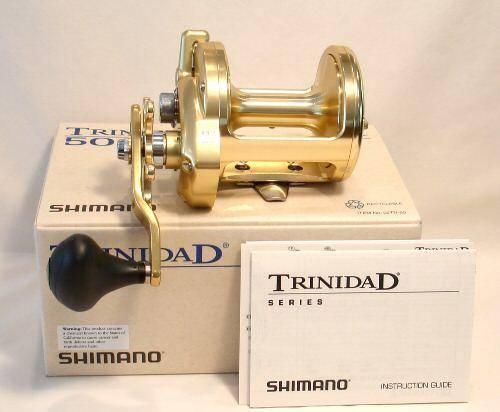 Shimano Trinidad 50 Tn-50 Fishing Reel