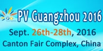 PV Guangzhou 2016 - Guangzhou International Solar Photovoltaic Exhibition