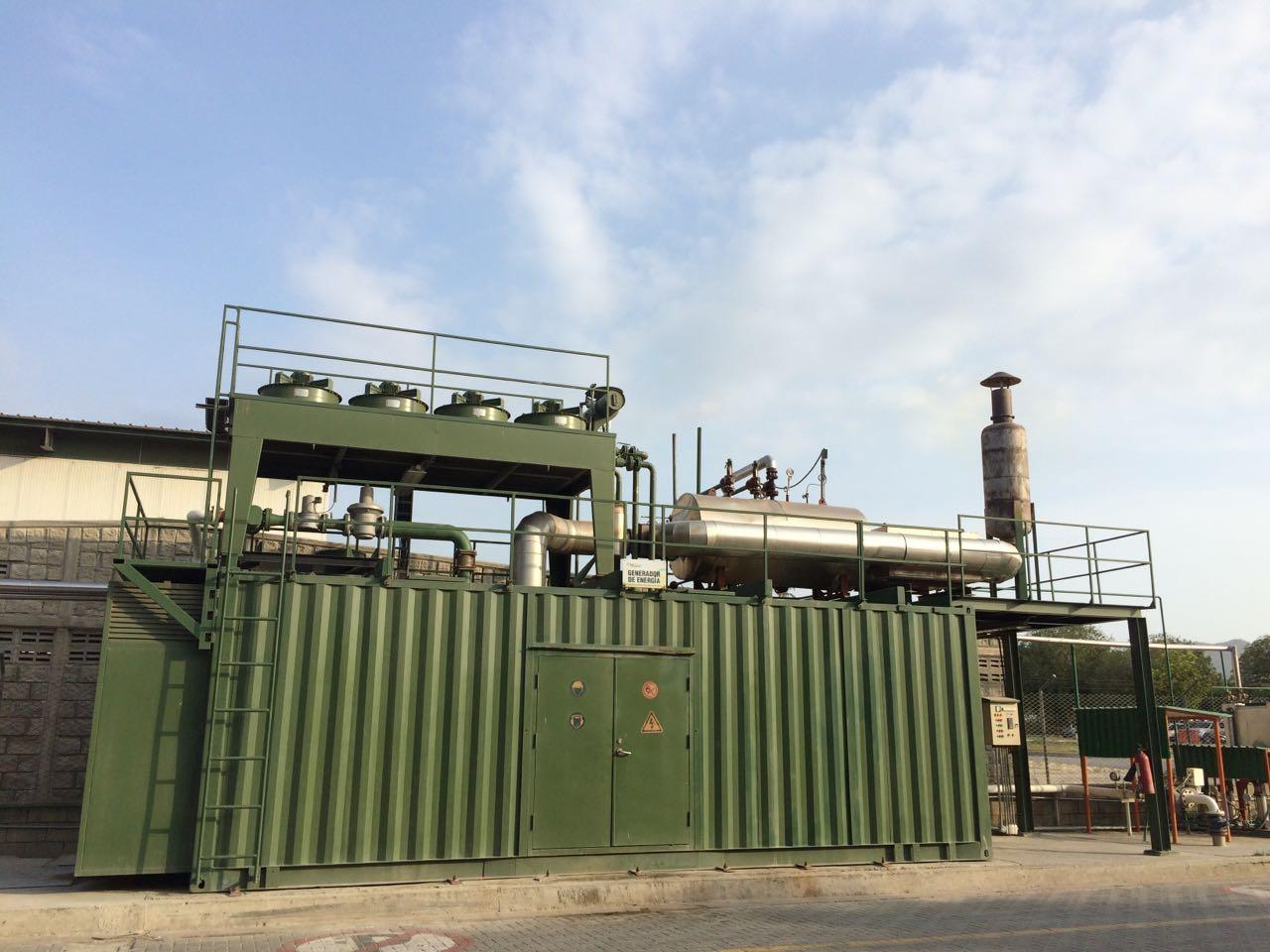 Exhaust Gas Boilers Waste Heat Recovery For Biogas Generator Sets