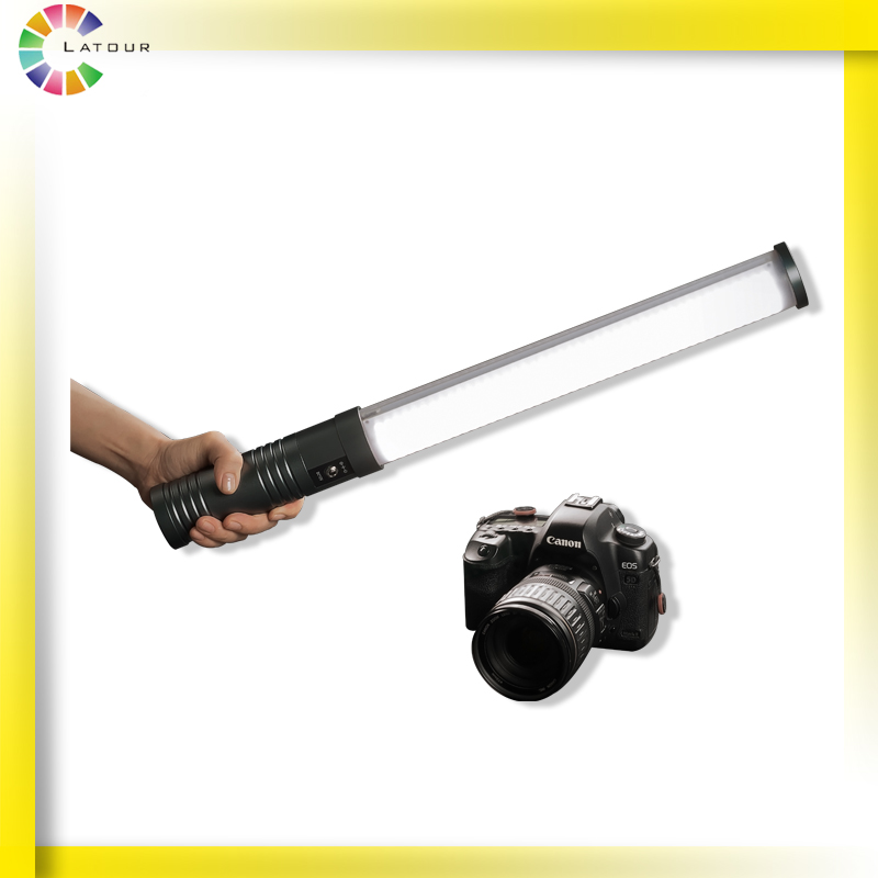 Rechargeable Handheld Bi-color LED Lights Camera Lamp LED Lights for Photographic and Video Lighting