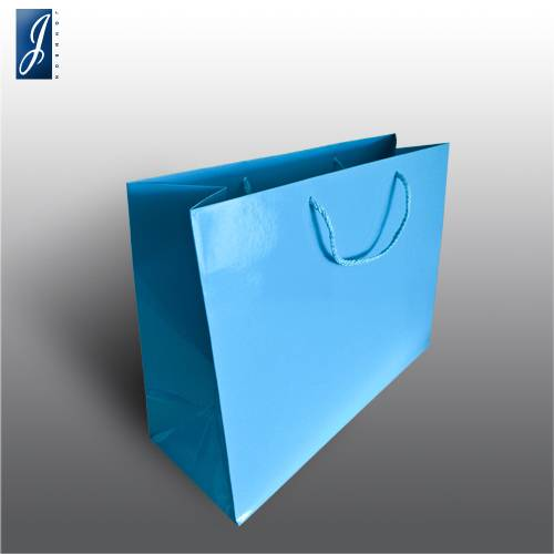 Currency big blue promotional bag