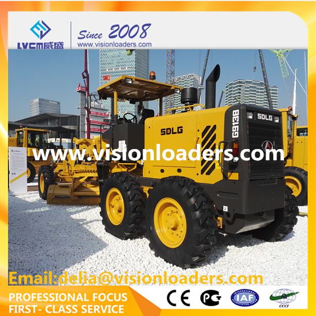 China Cheap Graders G9138 SDLG Small Motor grader G9138 for sale