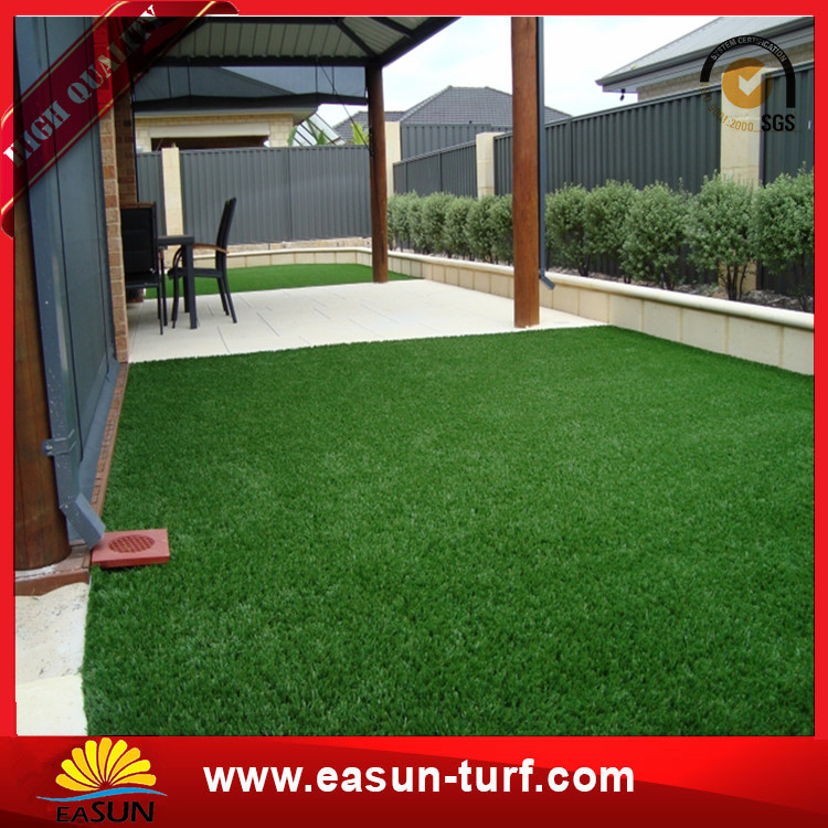 Factory Price Decorative Landscaping Garden Artificial Turf Synthetic Grass-Donut
