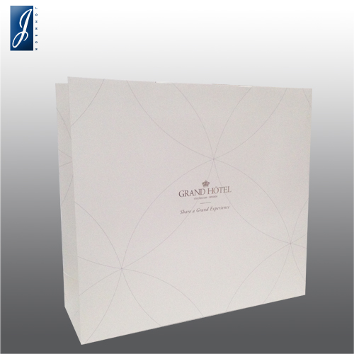 Customized large paper bag for GRAND HOTEL