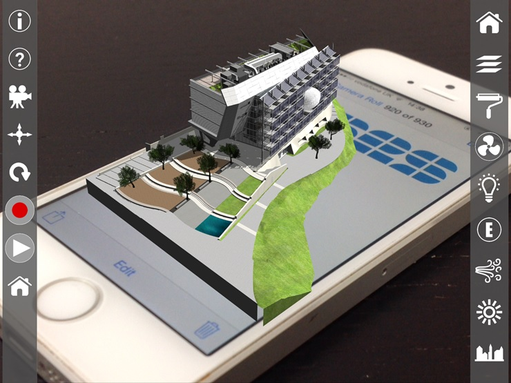ARki Augmented Reality Architectural Visualization by V-Studio