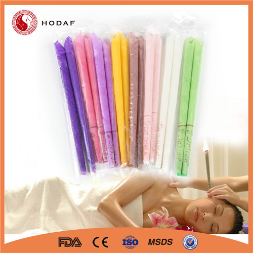 Eight colors health broadcast beeswax Indian Ear Candle
