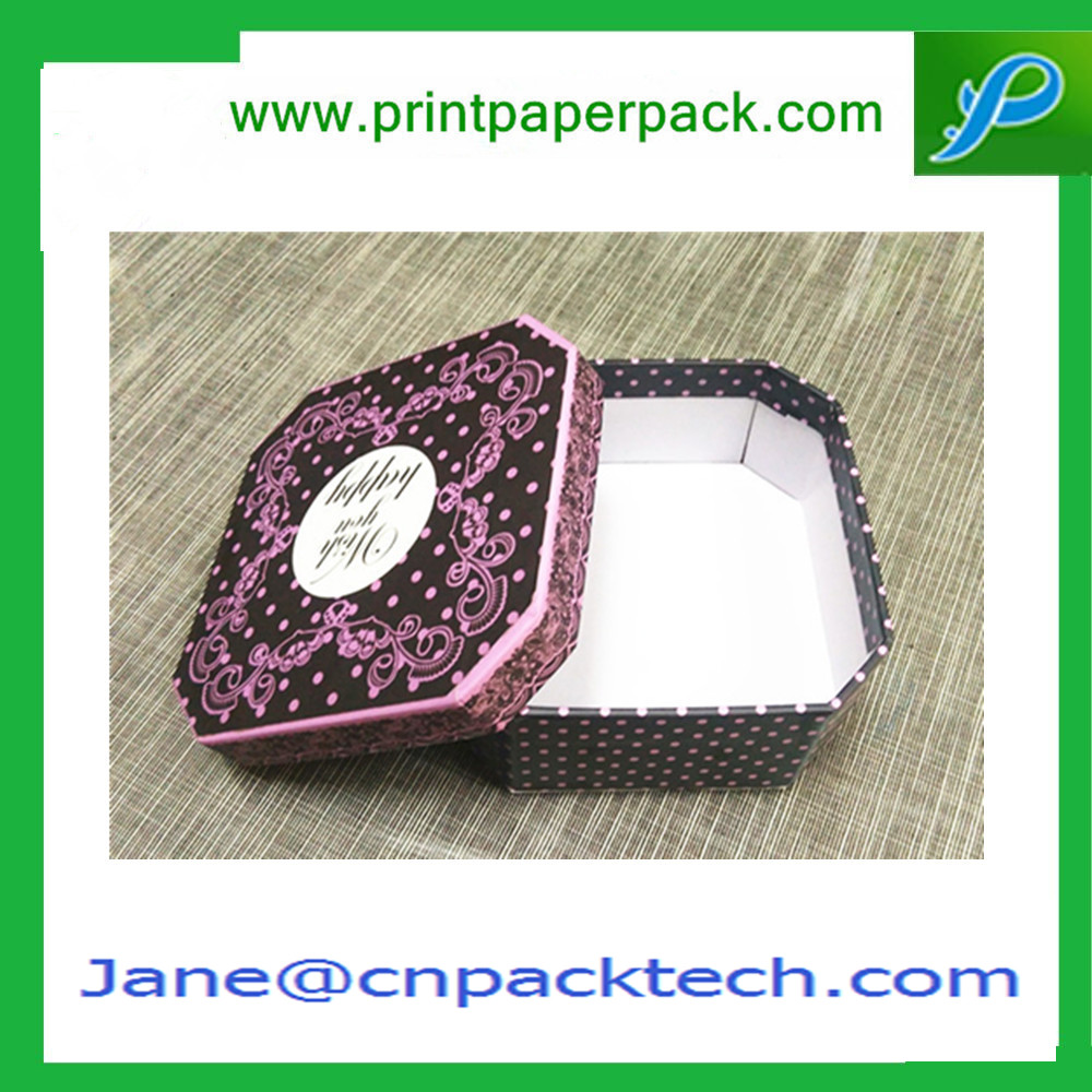 Custom Color Printed Top and Bottom Box Chocolate Packaging Boxes Paper Gift Box