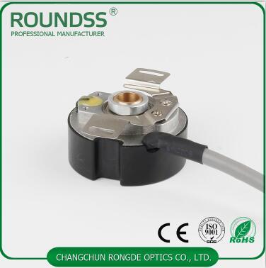 9mm taper hollow shaft rotary servo motor encoder 2500 ppr 6 poles