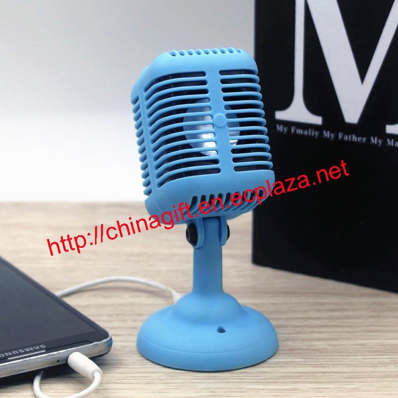 Portable microphone speaker