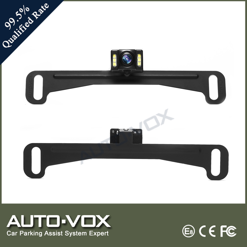 6 High Brightness LEDs HD Car Rear View Camera with Best Night Vision