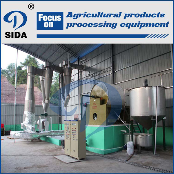 Sweet potato starch processing line