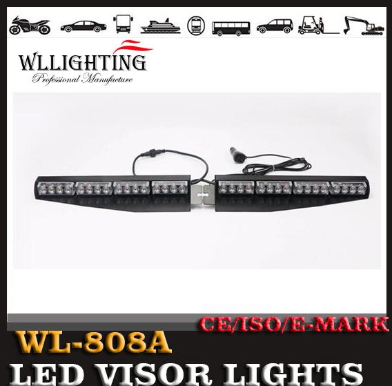12V AND 24V 32W Split Interior LED Visor Light Bar