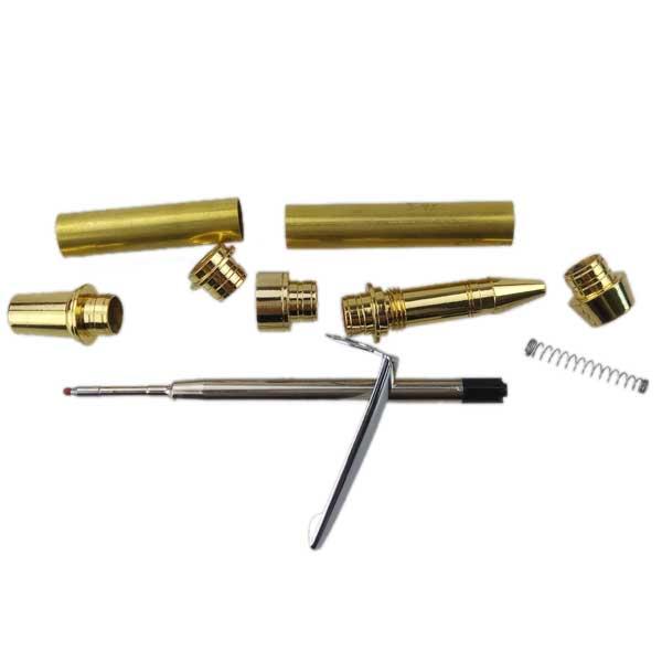 Wood Turning Gold Pen Kits