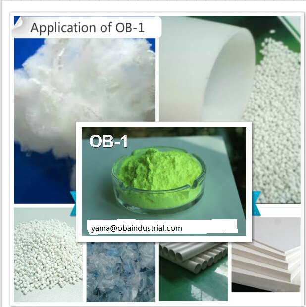 Fluorescent Whitening Agent OB-1 widely used on the fiber industrial