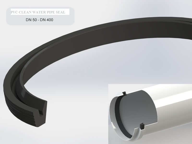 Pvc clean water pipe seal golday rubber industry