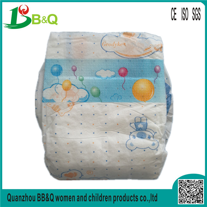 chinese high quality disposable baby diapers in quanzhou