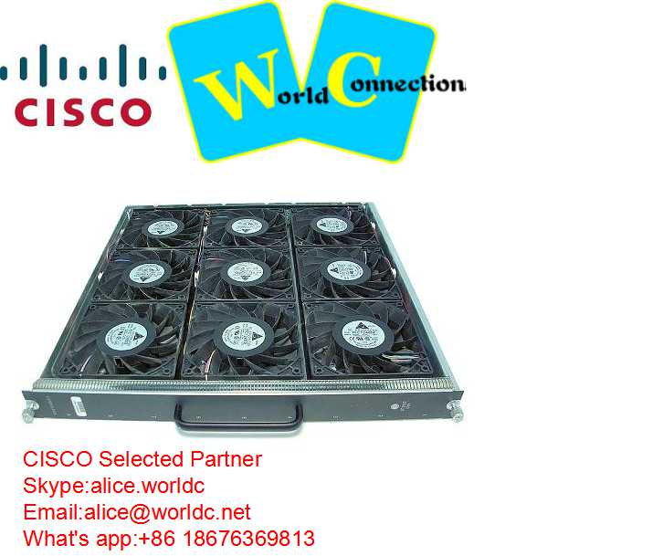 New Cisco Catalyst 6509-E Chassis Fan Tray WS-C6509-E-FAN