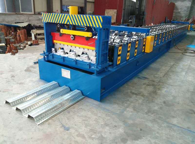 Galvanized Steel Floor Tile Decking Roof Sheet Roll Forming Machine Making line equipment