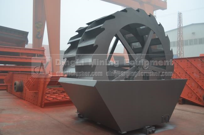 gravel sand washer machine with CE and ISO