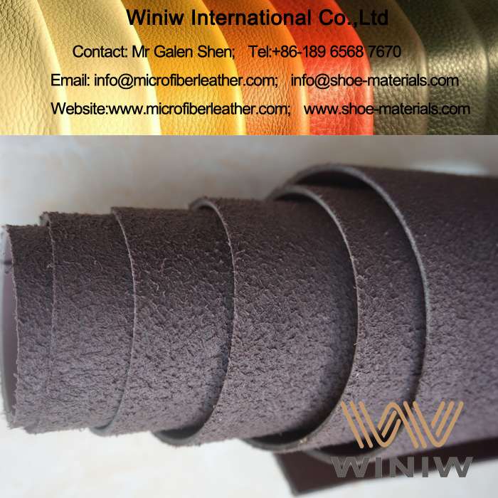 Microfiber Synthetic Leather for Safety Shoes Upper