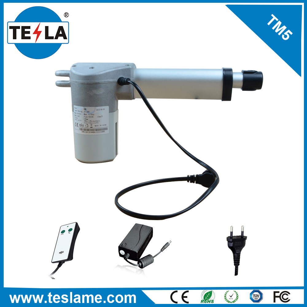 linear actuator 24v dc motor 12,000N 24v 50w dc motor for heavy industry duty lift linear actuator