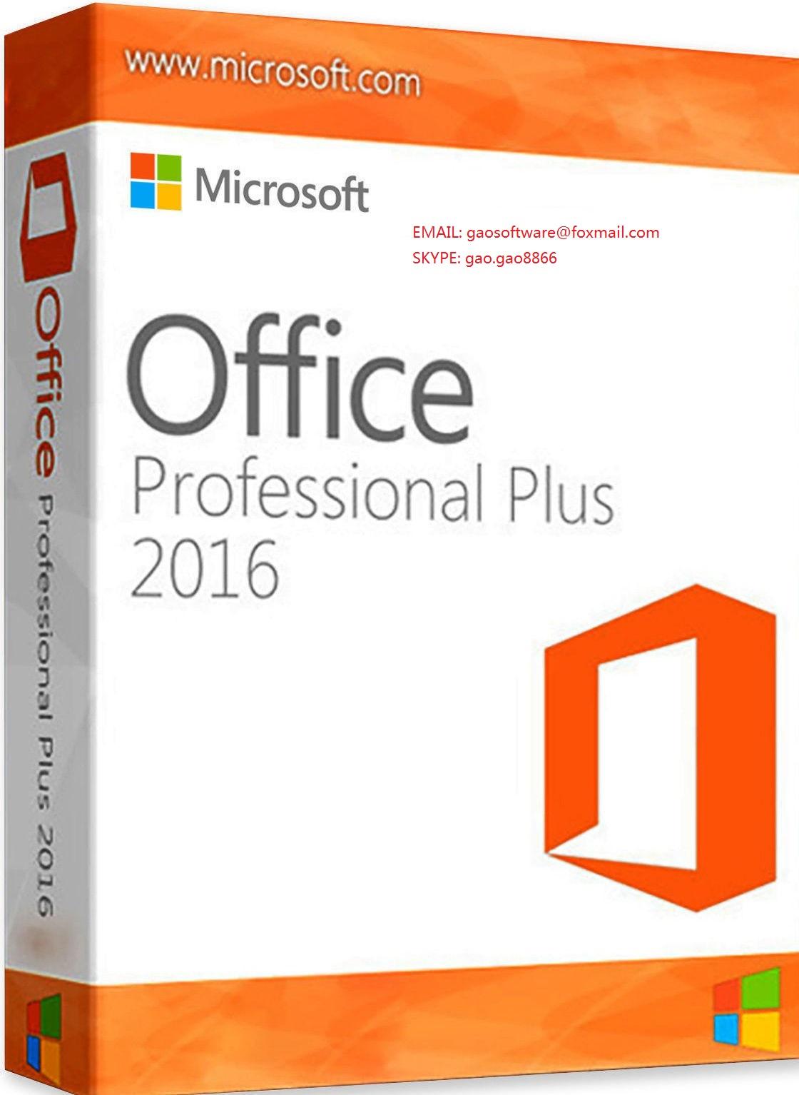 office 2016 professional plus key 100% online activation
