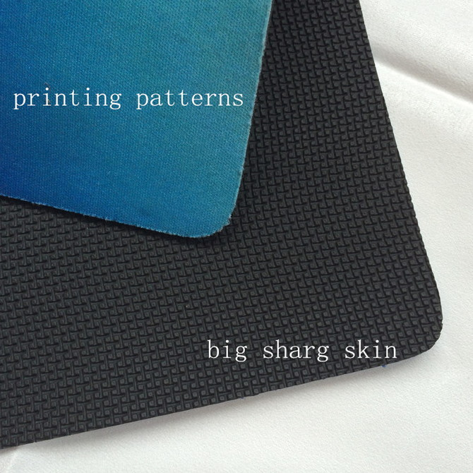 big shark skin neoprene fabric sbr cr scr surface embossing sheet antiskid macro large shark skin