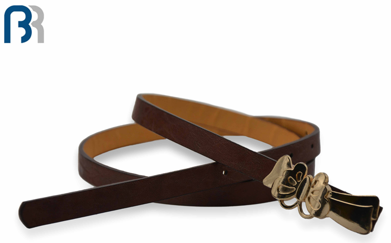 Ladies Skiny with Bees Buckle Belt