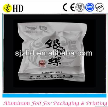 aluminium foils roll/bag/paper for tea packing
