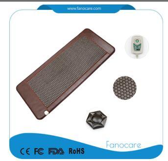 Popular Stone body pain relief tourmaline infrared mat heat healing mattress